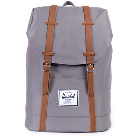 Herschel Retreat Sac à dos 19,5l, grey/tan